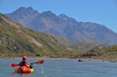 *Dulkara paddling towards Tapi