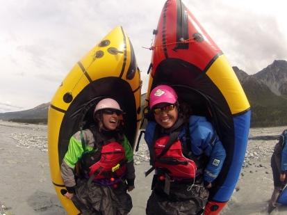 Packrafting in Alaska