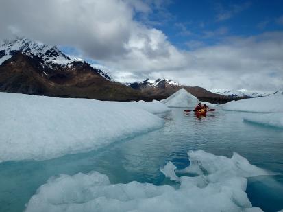 Sea kayaking inAlaska