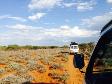 Botswana road tripping