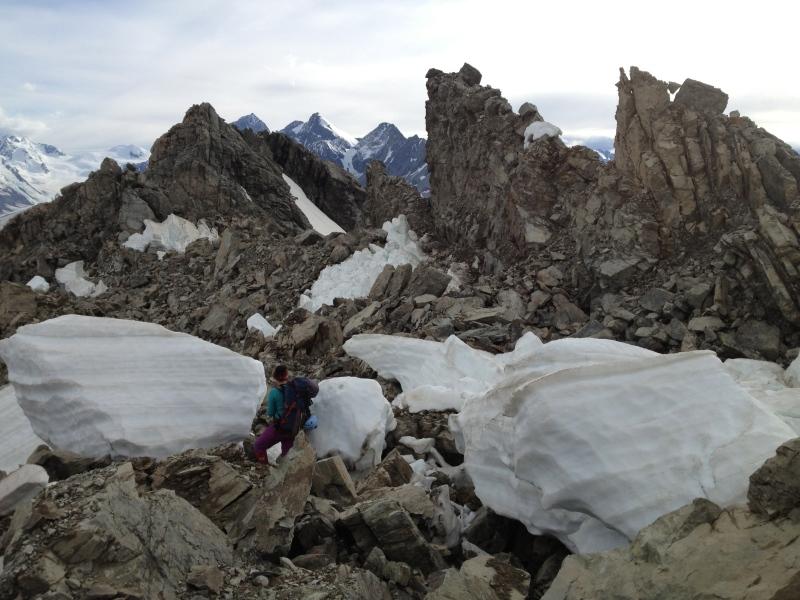 Four Kiwi women prepare to traverse the Southern Alps in NewZealand