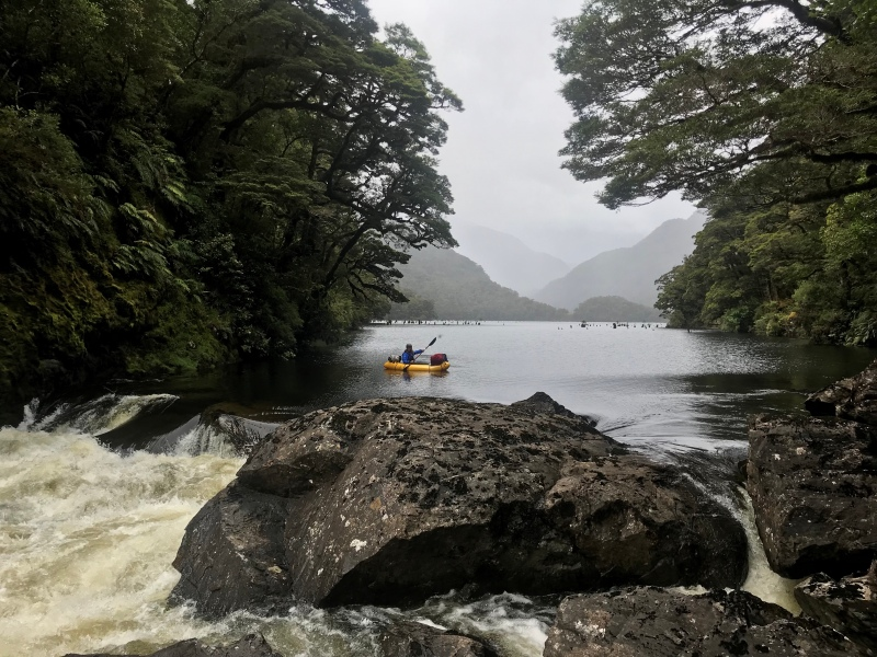 The quintessential Fiordland journey: Manapouri to Foveaux Strait by foot andpackraft